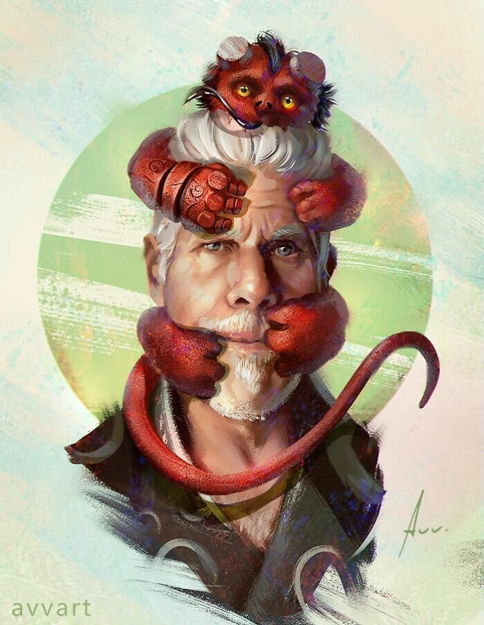 "Hellboy (Ron Perlman in ""Hellboy"")"