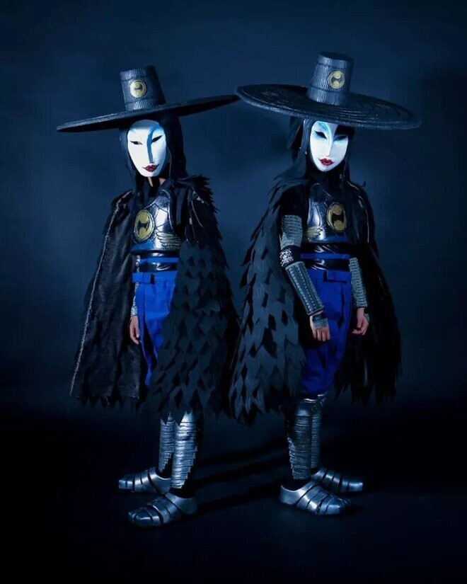 #3 The Sisters (Kubo And The Two Strings)