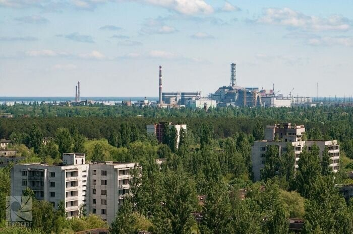 #30 Looking At The Chernobyl Power Plant From Pripyat