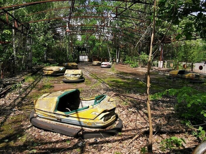 #25 Visited Chernobyl. The Overgrown Amusement Park Of Pripyat!