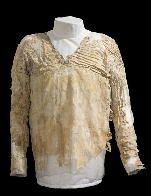 8. Oldest Dress (5,000 years old)