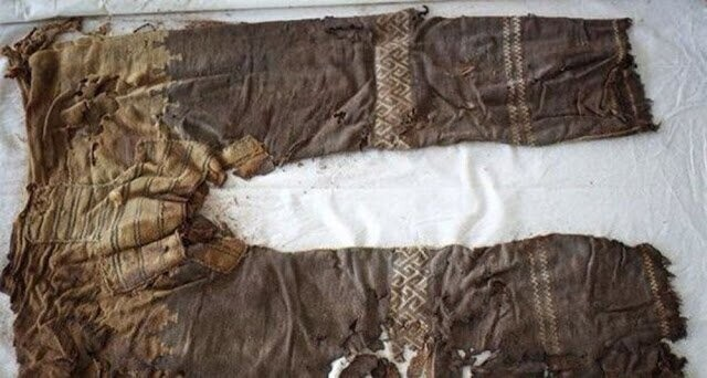 6. Oldest Pants (3,000 years old)
