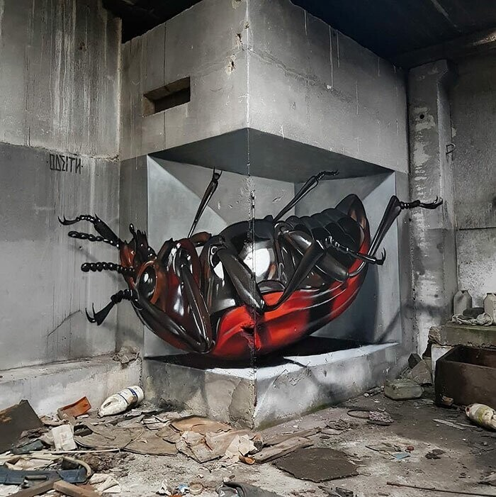 16 Jaw-Dropping 3D Street Art Pieces By Odeith