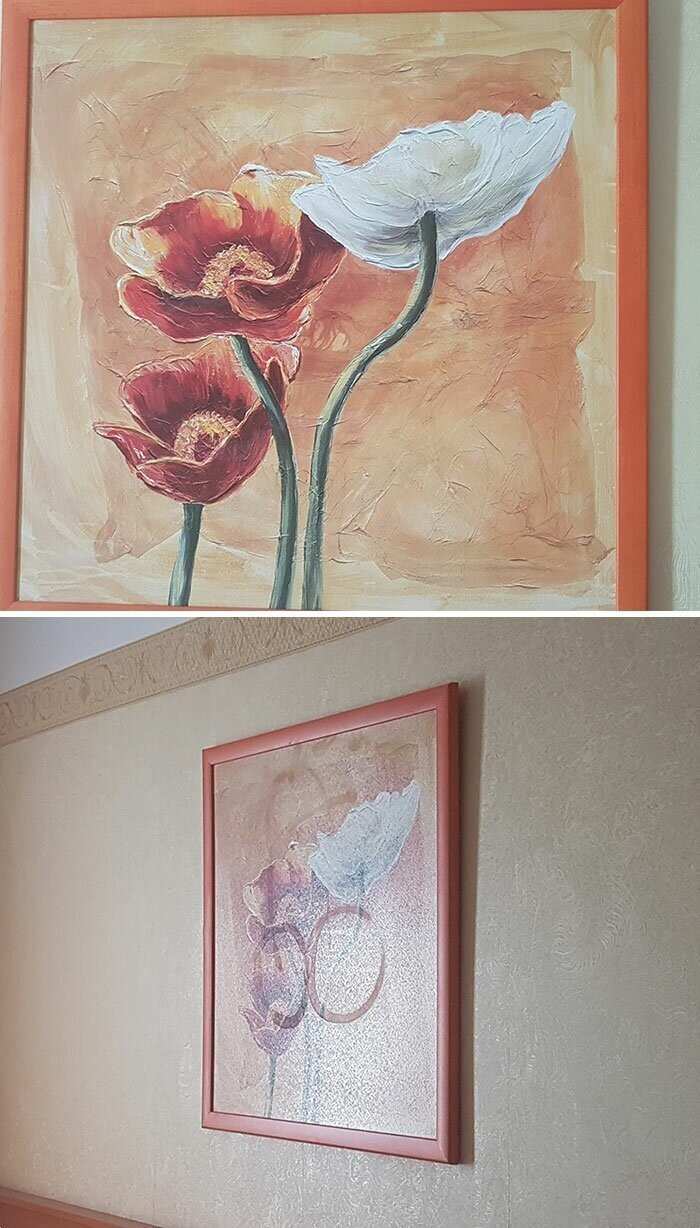 #21 Lovely Painting In My Hotel Room