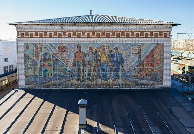 Most Beautiful Remaining Street Mosaics From The Soviet Union