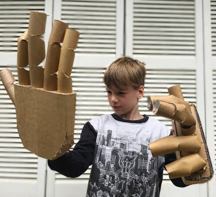 #14 Robotic Cardboard Hands
