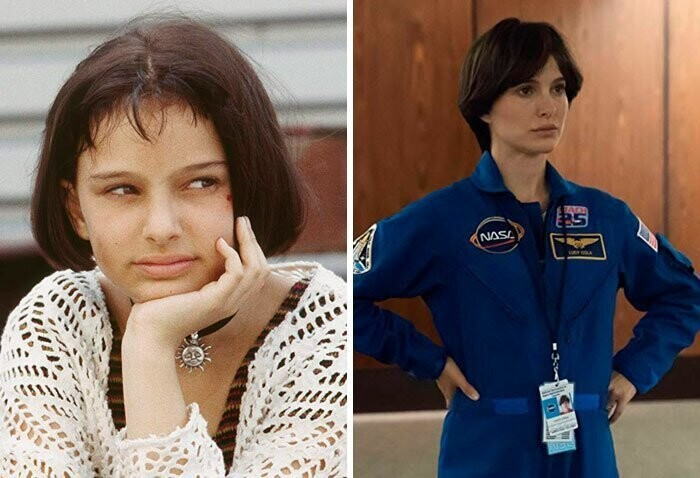 Natalie Portman: Léon: The Professional (1994) — Lucy In The Sky (2019)