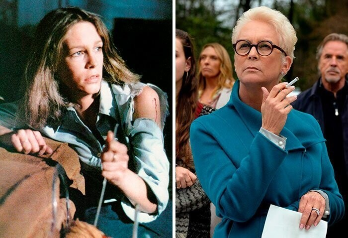 Jamie Lee Curtis: Halloween (1978) — Knives Out (2019)