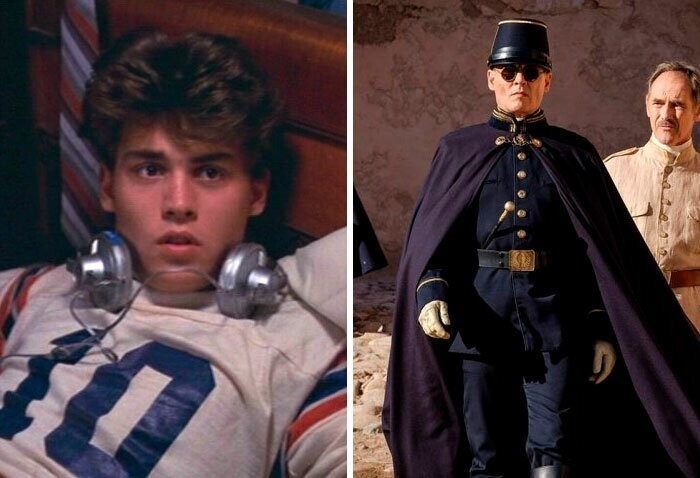 Johnny Depp: A Nightmare On Elm Street (1984) — Waiting For The Barbarians (2019)
