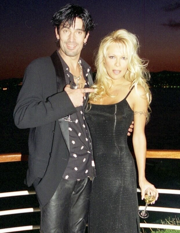 Pamela was previously married to Tommy Lee
