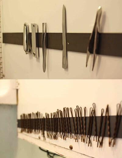 14. Магнитная лента для ножниц, пинцетов и прочего