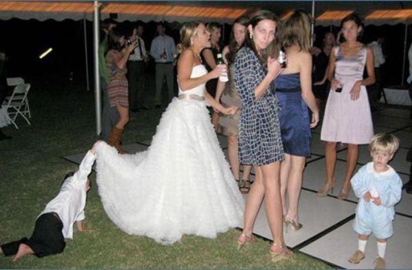 Tоп 15 самых неудачных свадебных фото