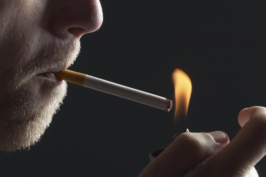 a study of cigarette smoke