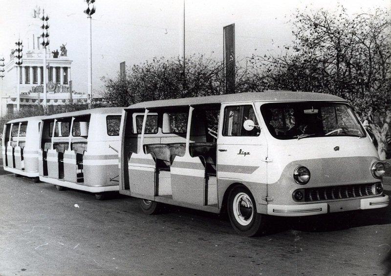 ВДНХ СССР. РАФ-980Д/979 – «Рига» . 1962-1969гг.