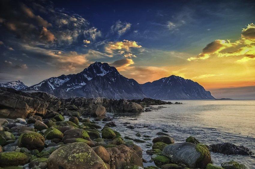 Самая южная страна Скандинавии: