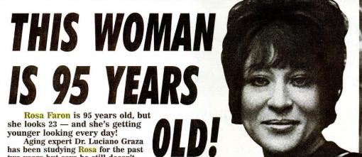 Феномен итальянки Розы Фарон и других нестареющих людей