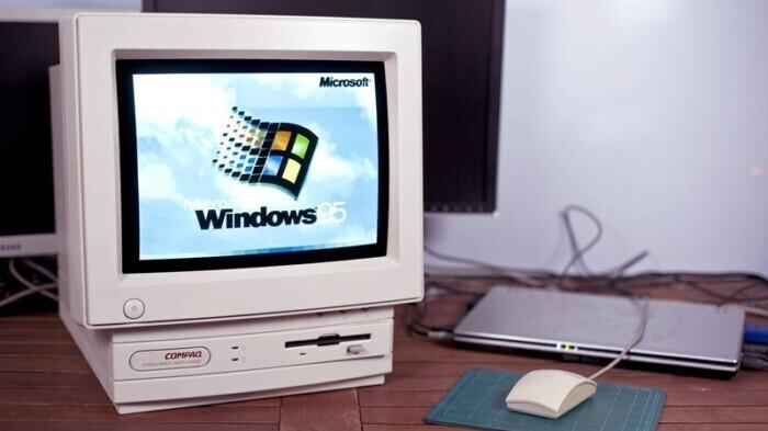 Windows 95исполнилось 25лет