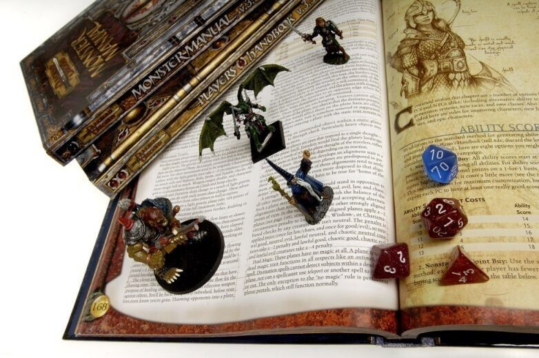 Игра Dungeons and Dragons