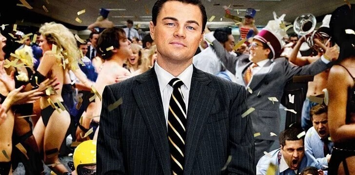 "4. The Wolf of Wall Street (2013) - ""Волк с Уолл-стрит"""