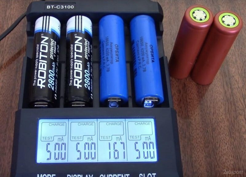 В России разработали литий-ионные аккумуляторы с повышенной емкостью и увеличенным циклом перезарядки (2 фото)
