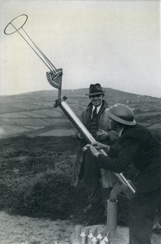 Проектор Холмана, будущая картофельная пушка