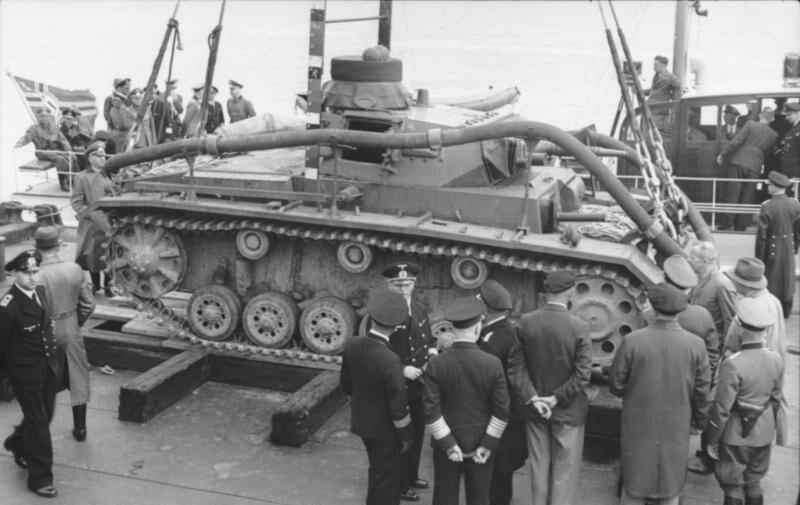 Panzerkampfwagen III als Tauchpanzer (водолазный танк)