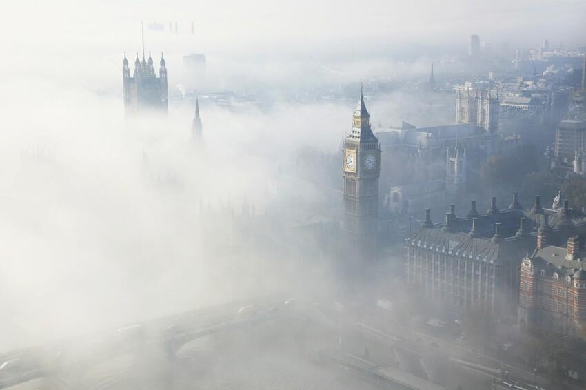Особенности ветра надВеликобританией