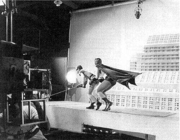 """27. На съемках """"Бэтмена"""" в 1966 году"""