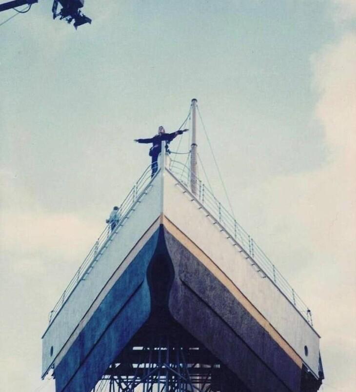 "Так снималась знаменитая сцена на ""Титанике"""