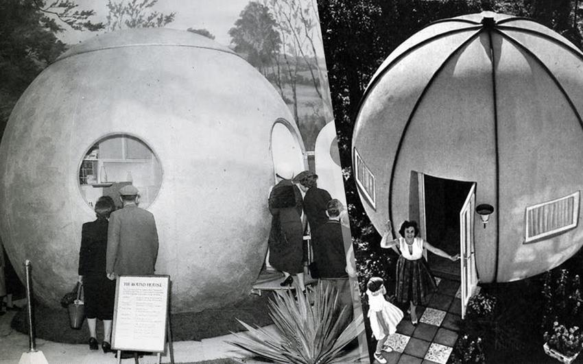 Круглые дома, которые придумали впрошлом веке
