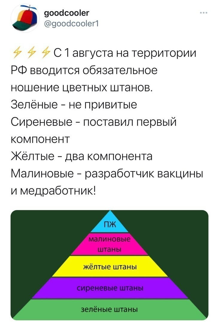 """""""У общества где нет цветовой индетефикации штанов-нет будущего!"""" - (Кин-дза-дза)"""