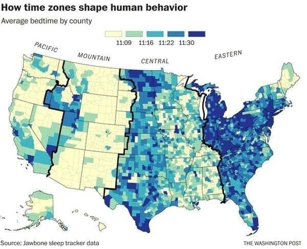 20необычных карт синтересными данными
