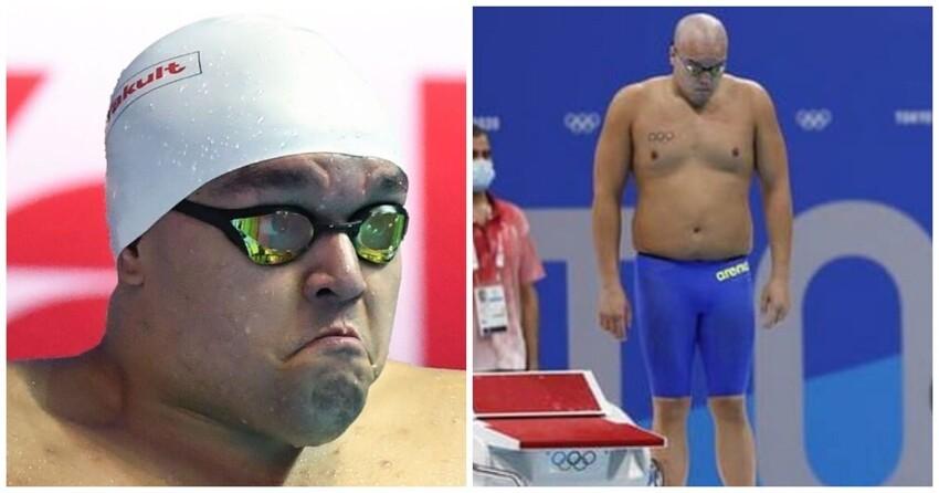 «Гидродинамическая фигура»: полный пловец-олимпиец из Палау стал звездой Сети