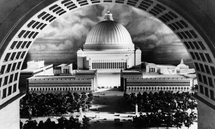 """24. Гитлер планировал заменить Берлин мегаполисом """"Германия"""", чтобы продемонстрировать нацистскую мощь"""