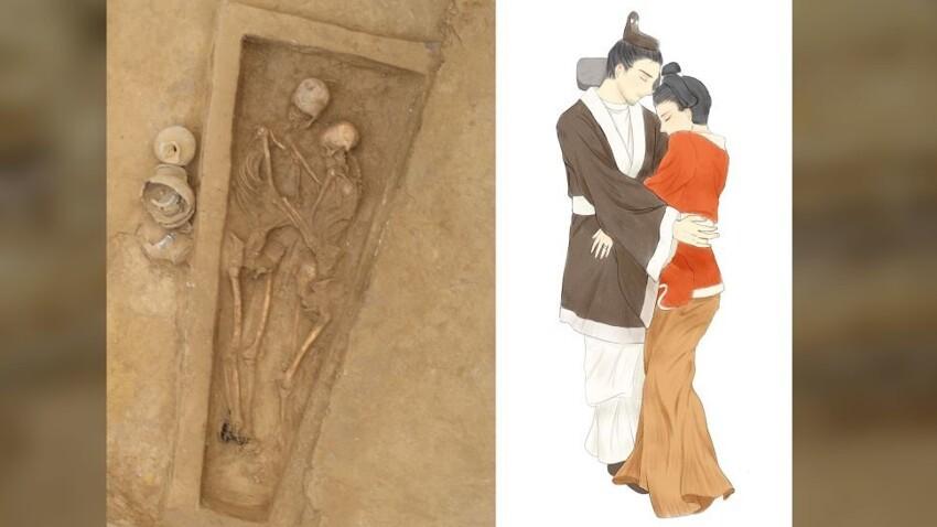1500 летназад китаянка «пожертвовала собой», чтобы еёпохоронили рядом слюбимым