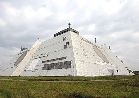 """Завершена модернизация уникальной радиолокационной станции """"Дон-2Н"""" системы раннего предупреждения о ракетном нападении, расположенной в Подмосковье."""