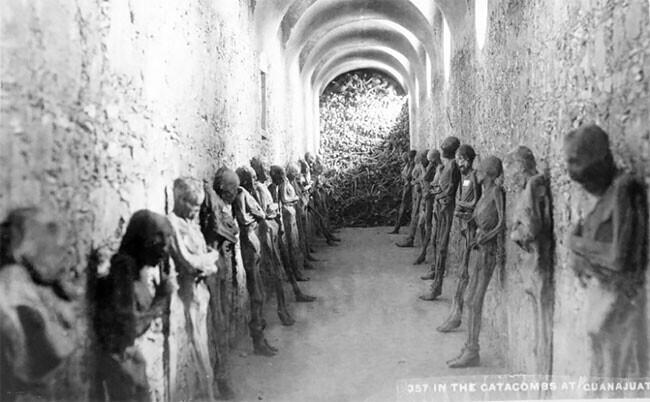 Жутковатые фото измузея мумий Гуанахуато