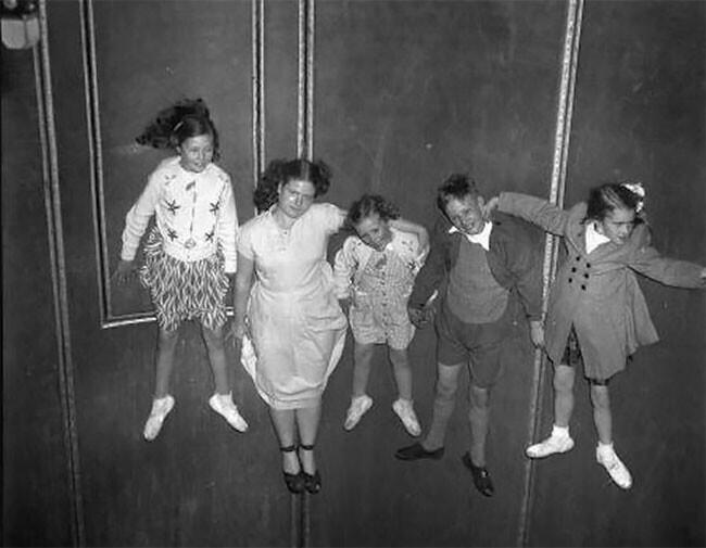 Роторная карусель: веселое винтажное развлечение