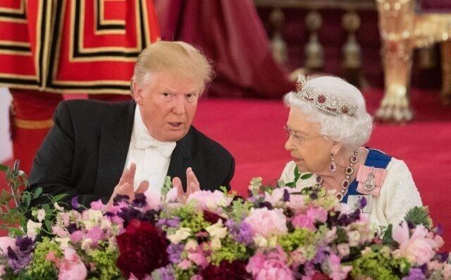 Королева Елизавета иееколлекция американских президентов