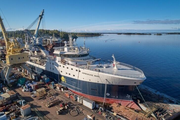 Траулер «Норвежское море» передан заказчику