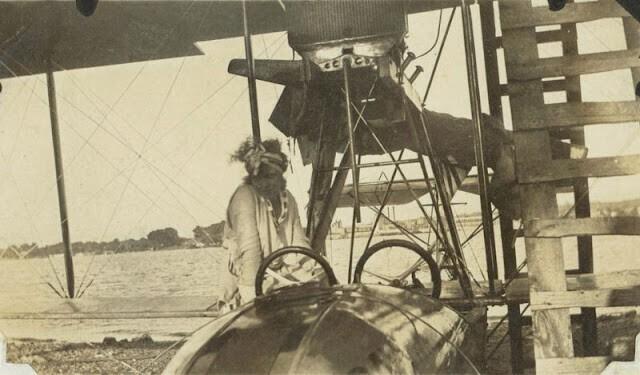 Редкие фотографии американских летчиков-первопроходцев