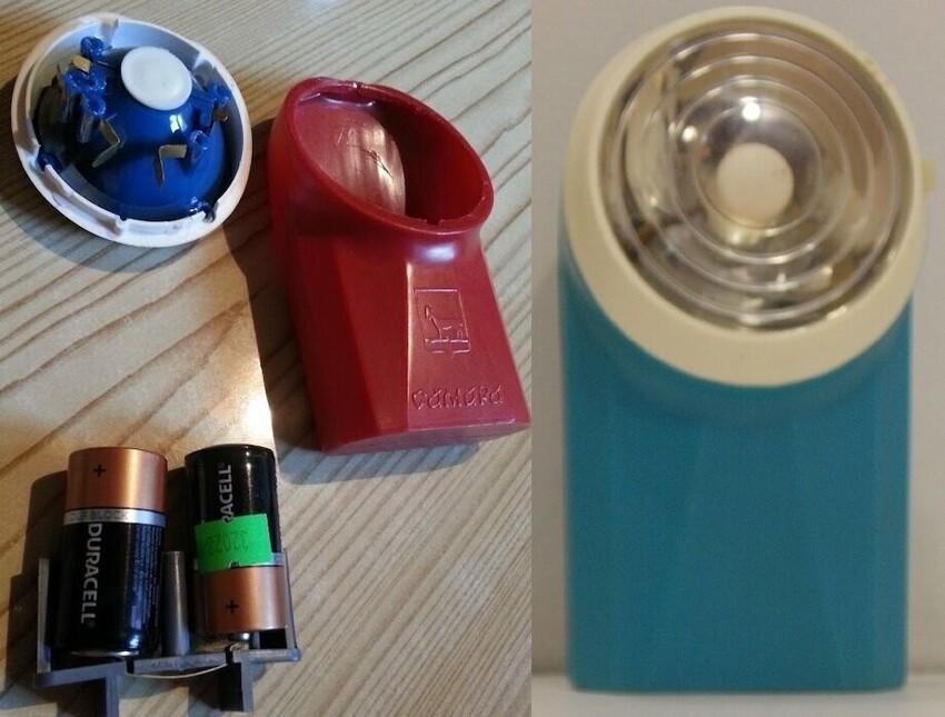 Какие фонарики выпускали вСССР?