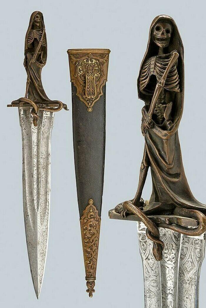 36. Редкий кинжал для эзотерических ритуалов, Франция, середина XIX века