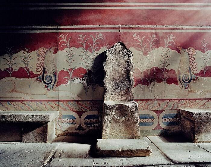 32. Самый старый тронный зал в Европе, в самом сердце Кносского дворца бронзового века, Крит, 15 век до нашей эры