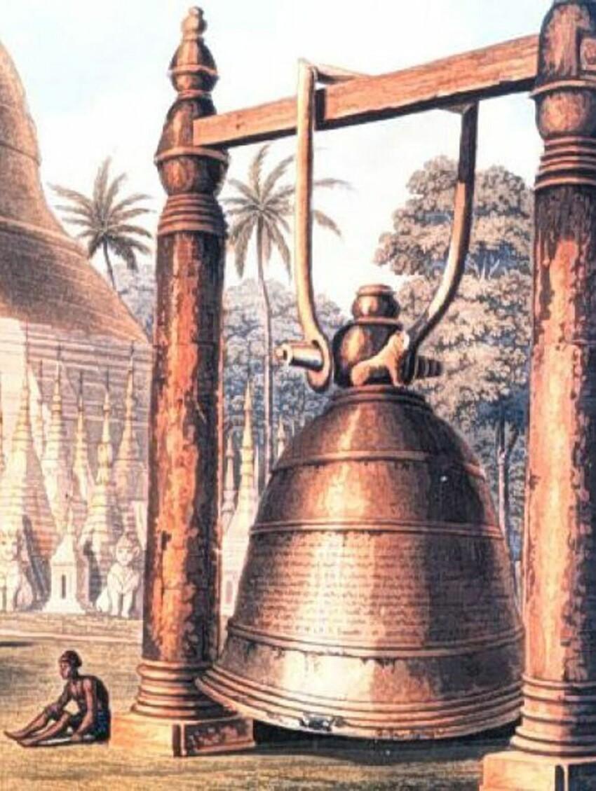 Думаете «Царь-колокол» – самый большой вмире? «Дхаммазеди» даже корабль надноутянул!