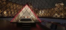 Airbnb Is Offering The Chance To Spend A Night In The Louvre Glass Pyramid