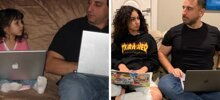 Dad Takes Photos Of Himself And His Daughter Sitting On The Couch Since 2007