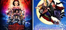 Artist Replaces The Cast Of Movies & TV Shows with Disney Characters, And It's Oddly Fitting