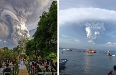 30 Photos That Show The Terrifying Power Of The Taal Volcano Which Just Erupted In The Philippines