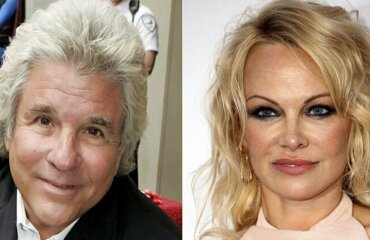 Fifth time lucky Pamela Anderson married for the fifth time to movie mogul ex Jon Peters